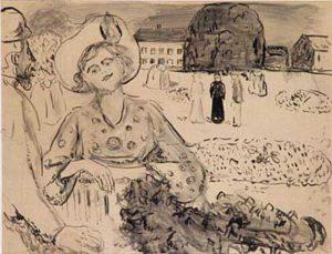 Edvard Münch. Quand nous nous réveillerons d'entre les morts. 1909