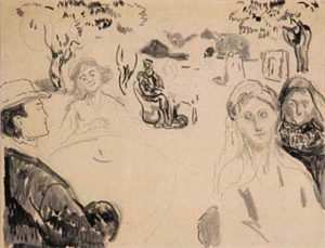 Münch. Quand nous nous réveillerons d'entre les morts, 1909